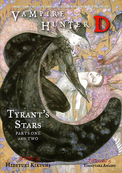 Image: Vampire Hunter D Novel Vol. 16: Tyrant's Stars Parts 1 & 2 SC  - Dark Horse