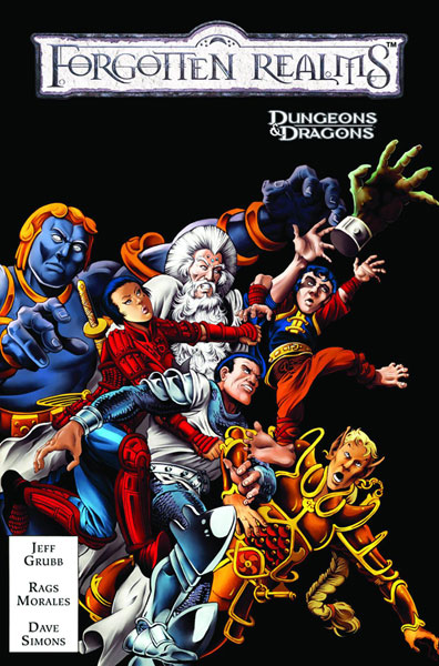 Image: Dungeons & Dragons: Forgotten Realms Classics Vol. 01 SC  - IDW Publishing