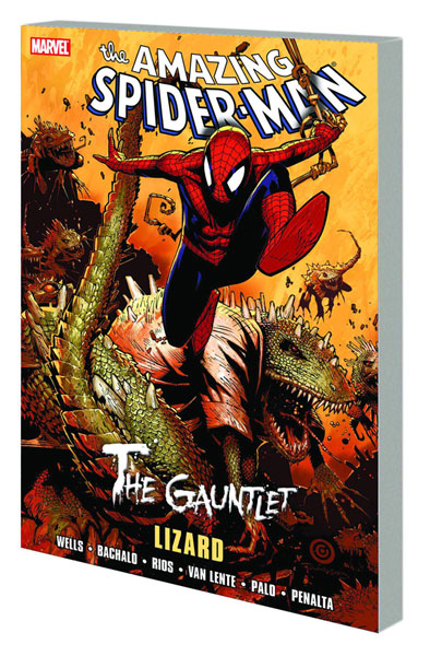 Image: Spider-Man: Gauntlet Vol. 05 - Lizard SC  - Marvel Comics
