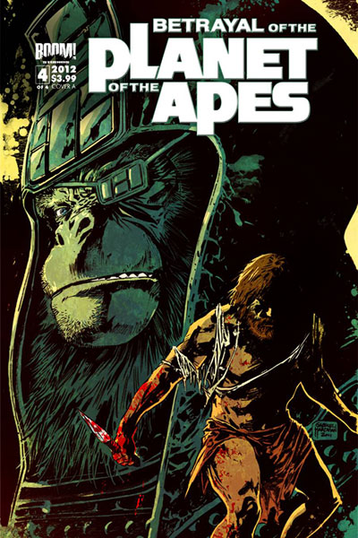Image: Betrayal of the Planet of the Apes #4 - Boom! Studios