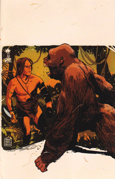 Image: Lord of the Jungle #3 (25-copy Francavilla virgin incentive cover) (v25) - Dynamite