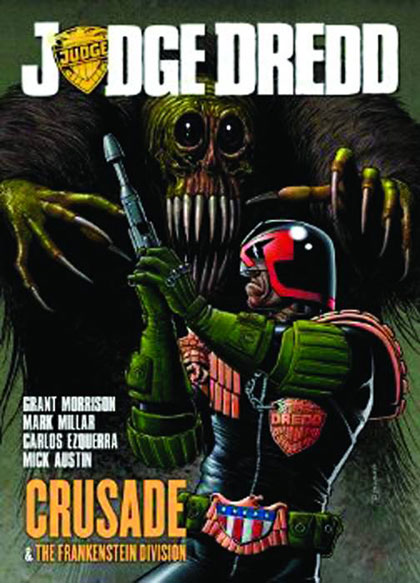 Image: Judge Dredd Crusade & Frankenstein Division SC  - Rebellion / 2000AD