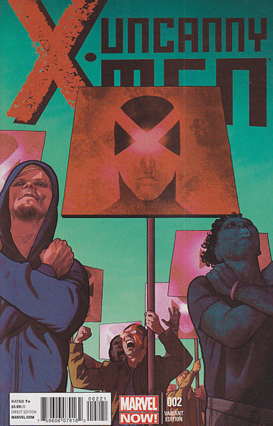Image: Uncanny X-Men #2 (Now) (Irving variant cover) - Marvel Comics