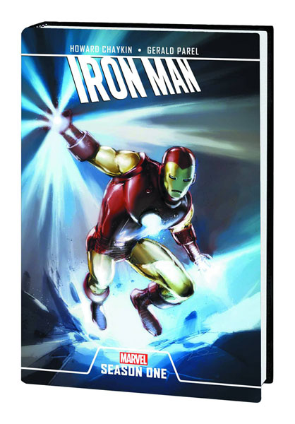 Image: Iron Man: Season One HC  - Marvel Comics