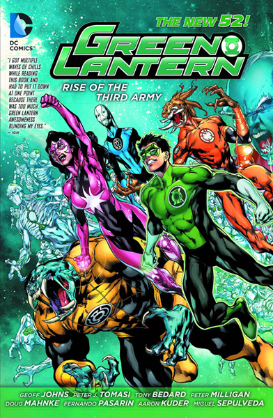 Image: Green Lantern: Rise of the Third Army SC  (N52) - DC Comics