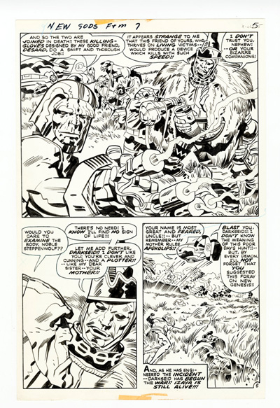 Jack Kirby's New Gods Artists Edition HC  - IDW Publishing
