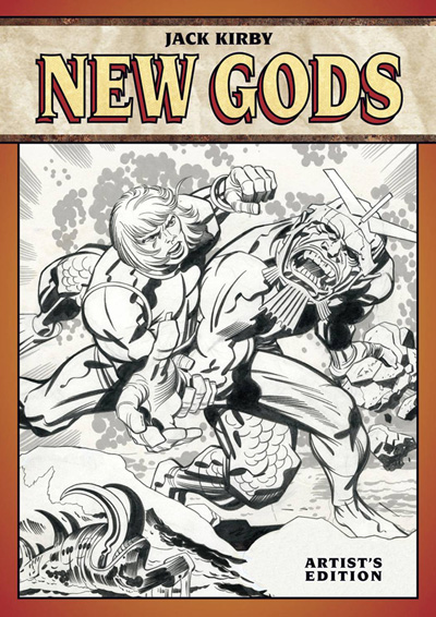 Image: Jack Kirby's New Gods Artists Edition HC  - IDW Publishing