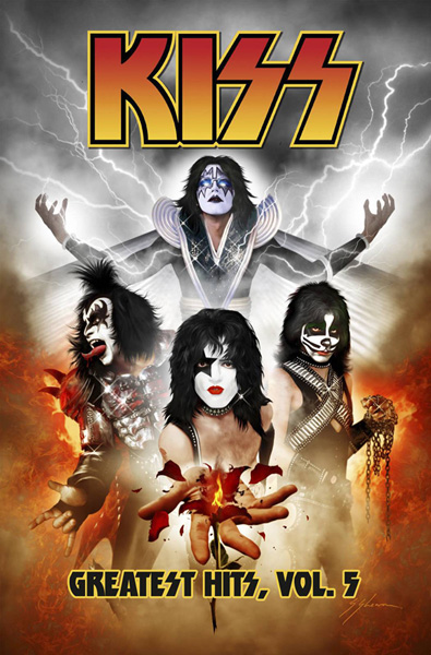 Image: KISS: Greatest Hits Vol. 05 SC  - IDW Publishing