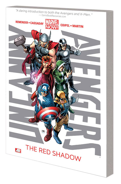 Image: Uncanny Avengers Vol. 01: The Red Shadow SC  - Marvel Comics