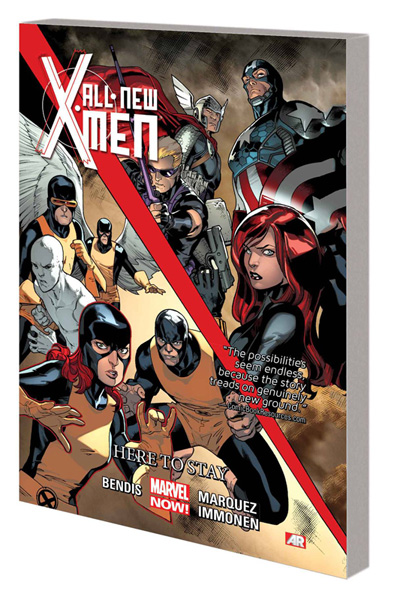 Image: All-New X-Men Vol. 02: Here to Stay SC  - Marvel Comics