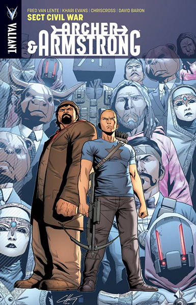 Image: Archer & Armstrong Vol. 04: Sect Civil War SC  - Valiant Entertainment LLC