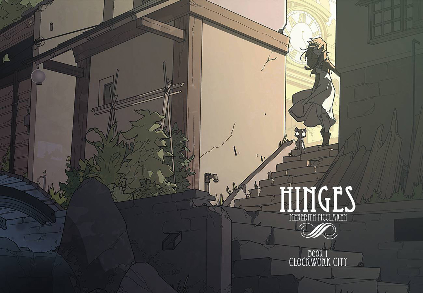 Image: Hinges Book 01: Clockwork City SC  - Image Comics