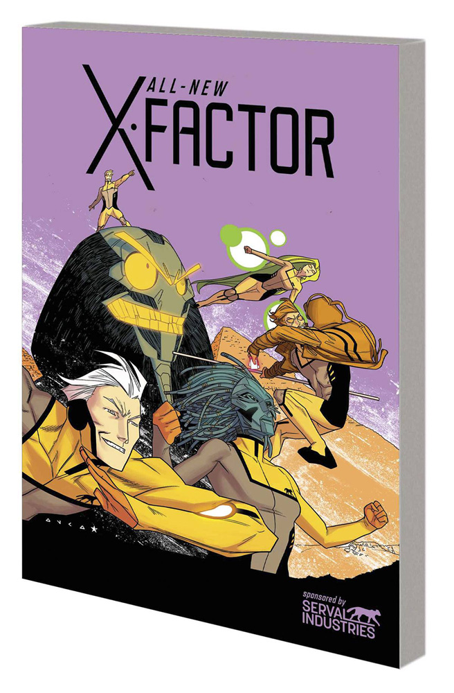 Image: All-New X-Factor Vol. 03: Axis SC  - Marvel Comics