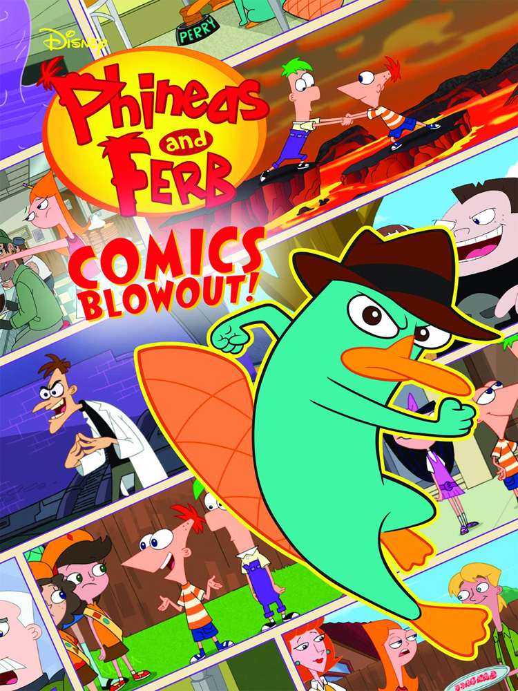 Disney Phineas and Ferb Colossal Comics Collection SC