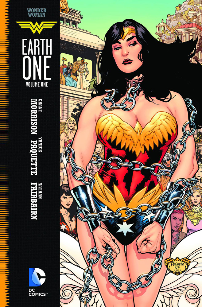 Image: Wonder Woman: Earth One Vol. 01 HC  - DC Comics