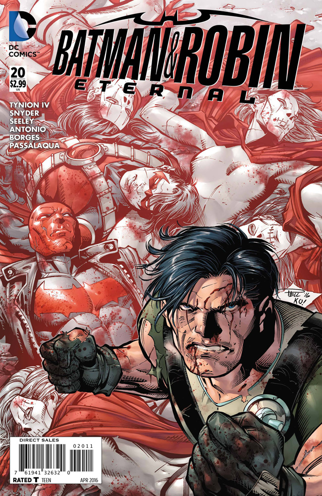 Image: Batman & Robin Eternal #20 - DC Comics