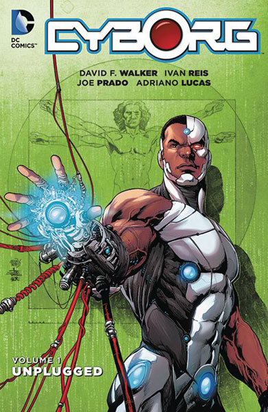 Image: Cyborg Vol. 01: Unplugged SC  - DC Comics