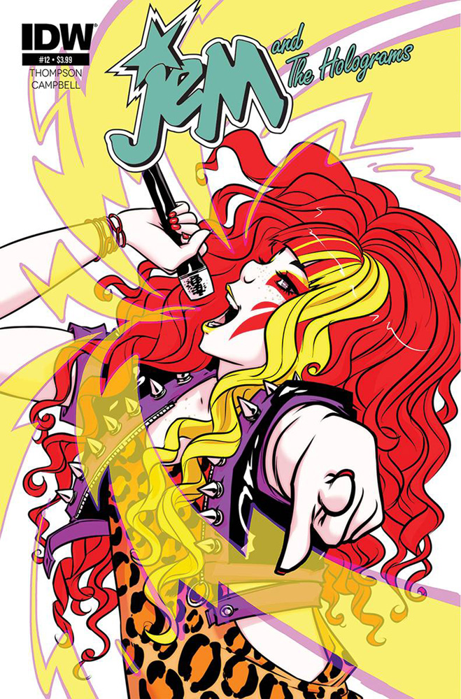 Image: Jem and the Holograms #12 - IDW Publishing