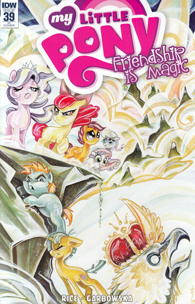 Image: My Little Pony: Friendship Is Magic #39 (variant incentive cover) (10-copy) - IDW Publishing