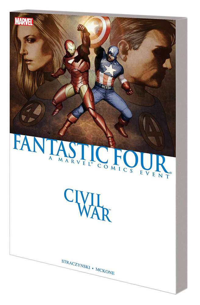 Image: Civil War: Fantastic Four SC  - Marvel Comics