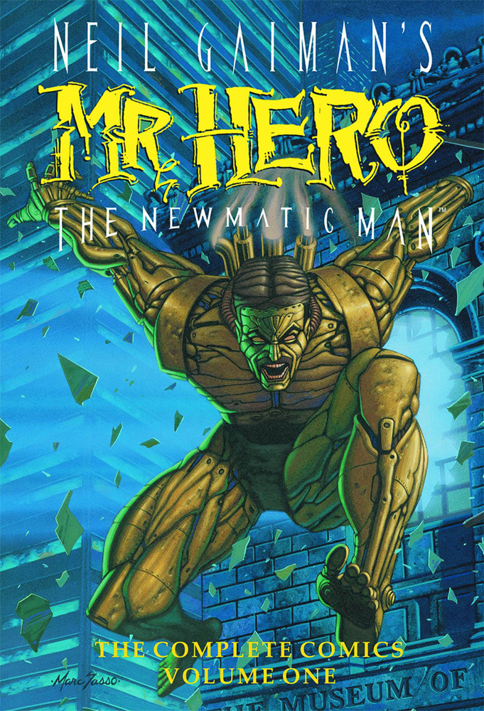 Image: Neil Gaiman's Mr. Hero The Newmatic Man Vol. 01 HC  - Super Genius