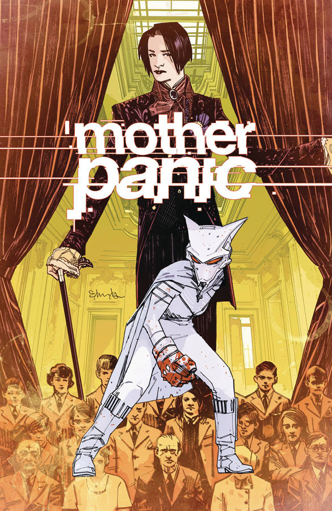 Image: Mother Panic #4  [2017] - DC Comics -Young Animal