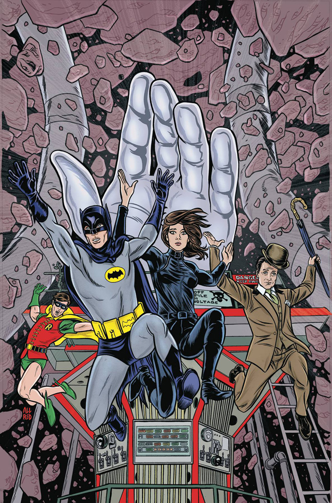 Image: Batman '66 Meets Steed and Mrs. Peel HC  - DC Comics