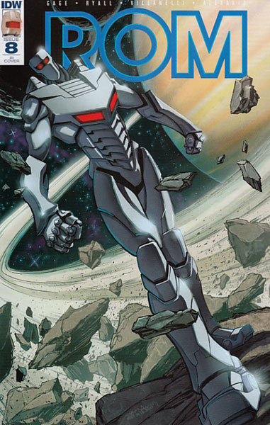 Image: Rom #8 (incentive cover - Jeff Zornow) (10-copy)  [2017] - IDW Publishing