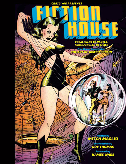 Image: Fiction House: From Pulps to Panels, From Jungles to Space HC  - IDW Publishing
