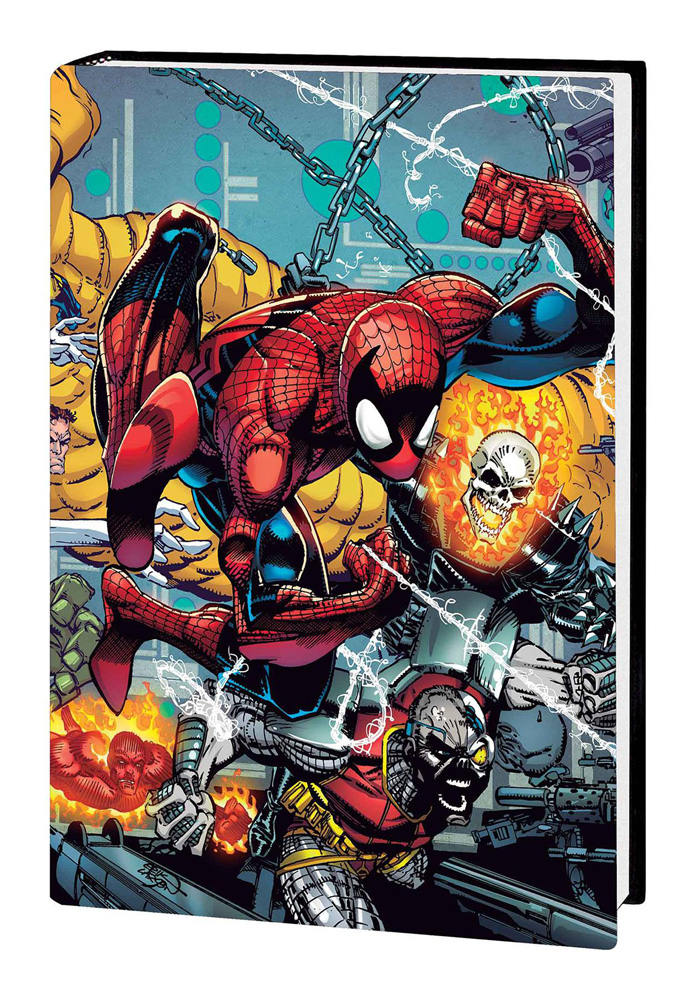 Image: Spider-Man by David Michelinie and Erik Larsen Omnibus HC  - Marvel Comics