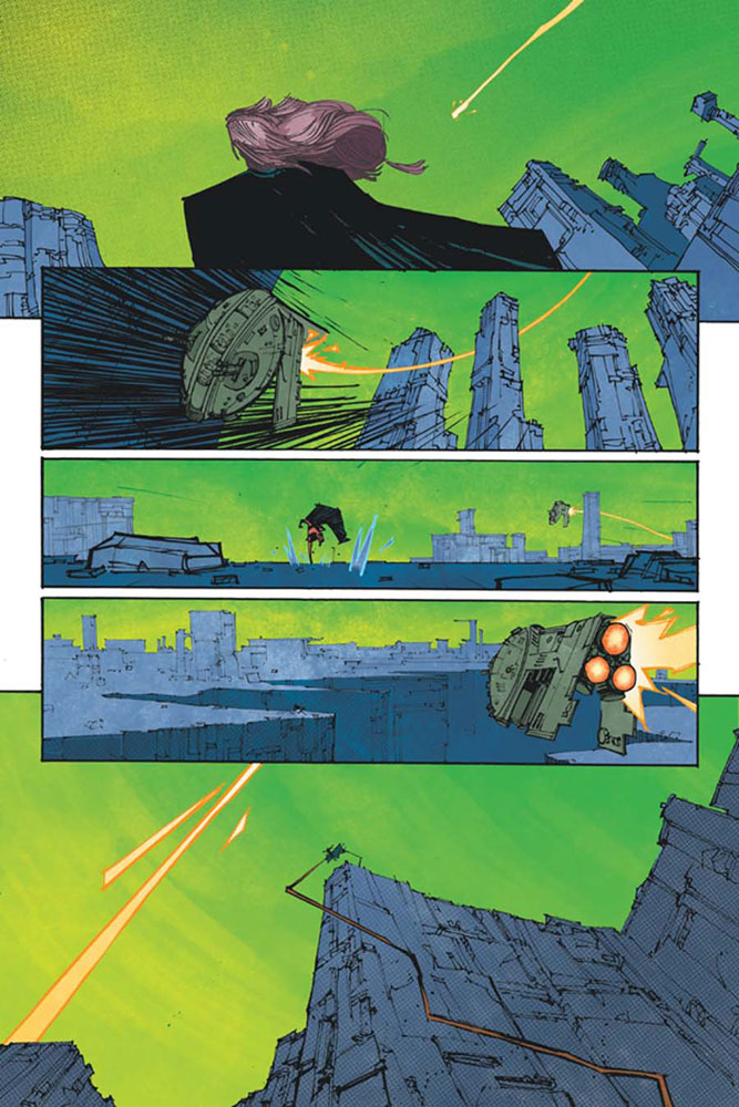 John Carter: The End #1 (Hardman b&w incentive cover - 01081) (30-copy)  [2017] - Dynamite