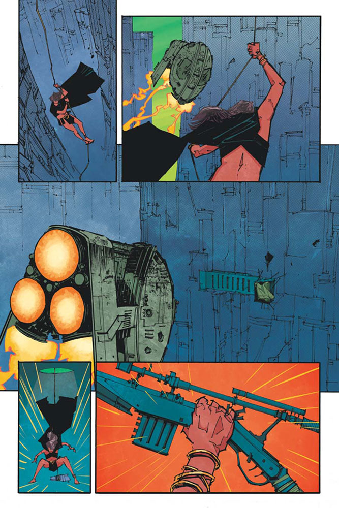 John Carter: The End #1 (Tan b&w incentive cover - 01101) (50-copy)  [2017] - Dynamite