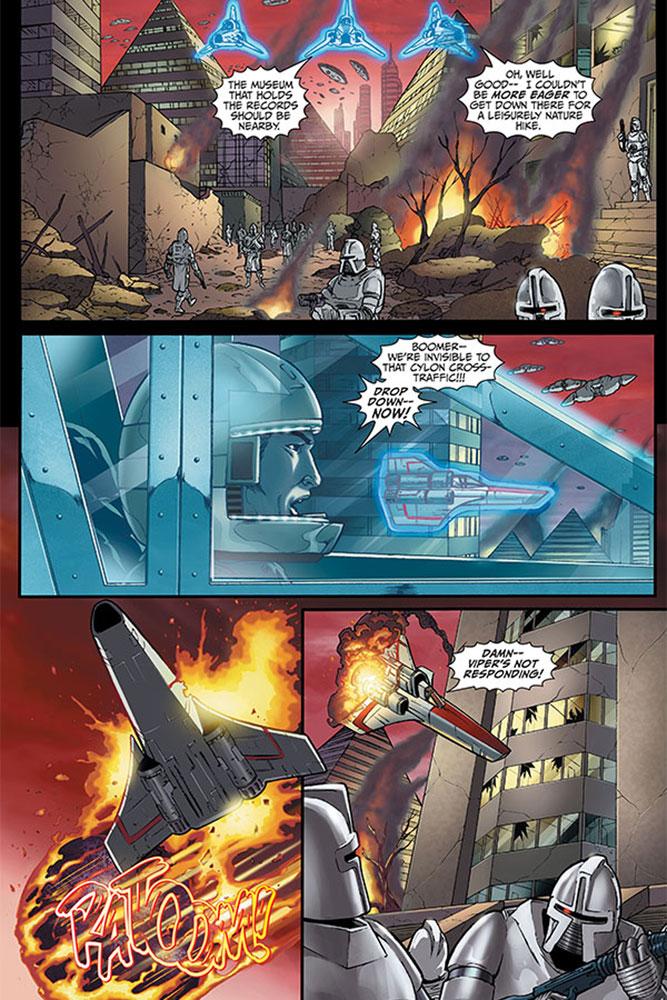 Battlestar Galactica Omnibus Vol. 01 SC  - Dynamite