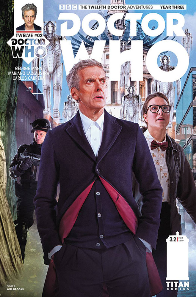 Image: Doctor Who: The 12th Doctor Year Three #2 (cover B - Photo)  [2017] - Titan Comics
