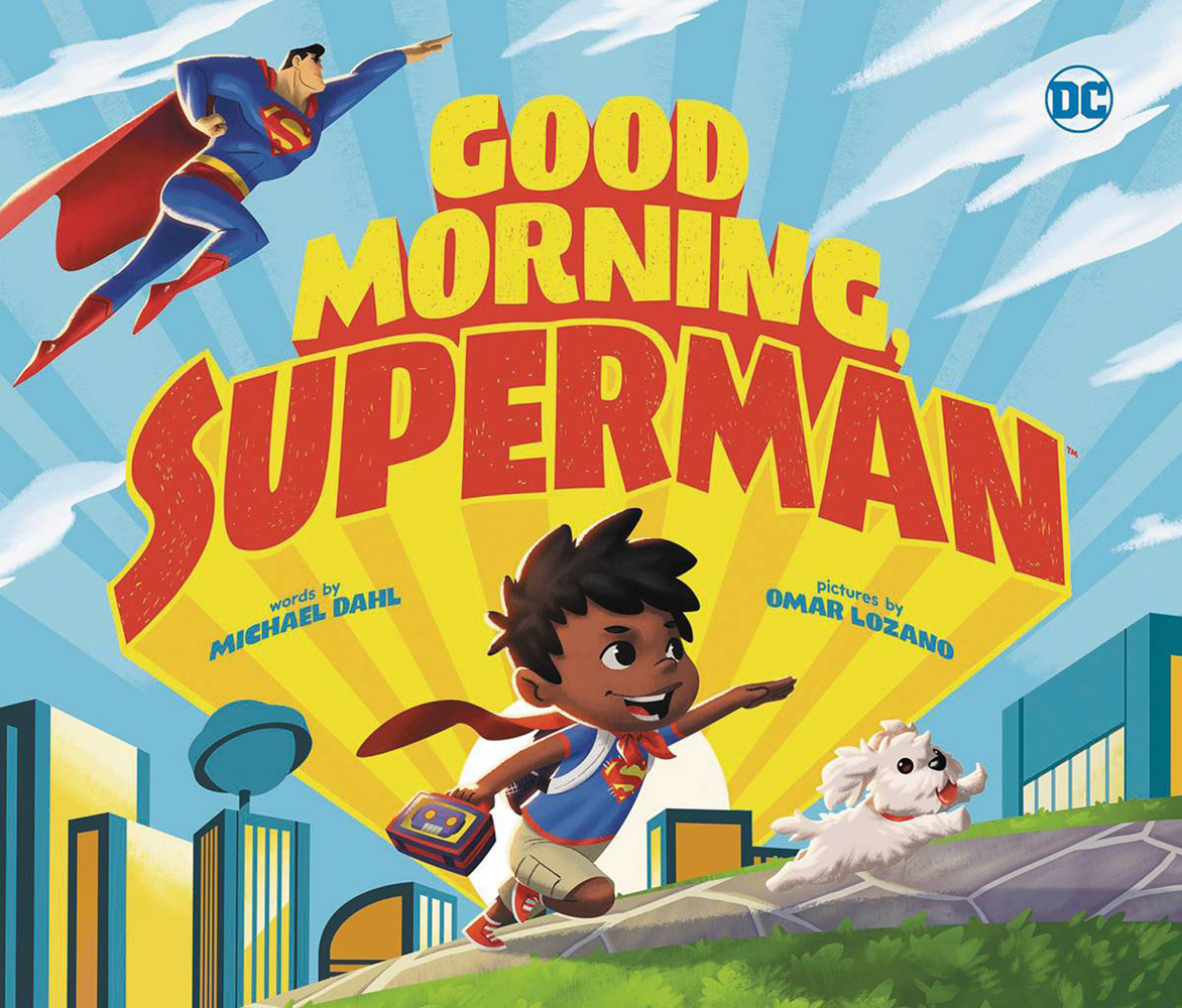 Image: Good Morning, Superman Picture Book HC  - Capstone Press