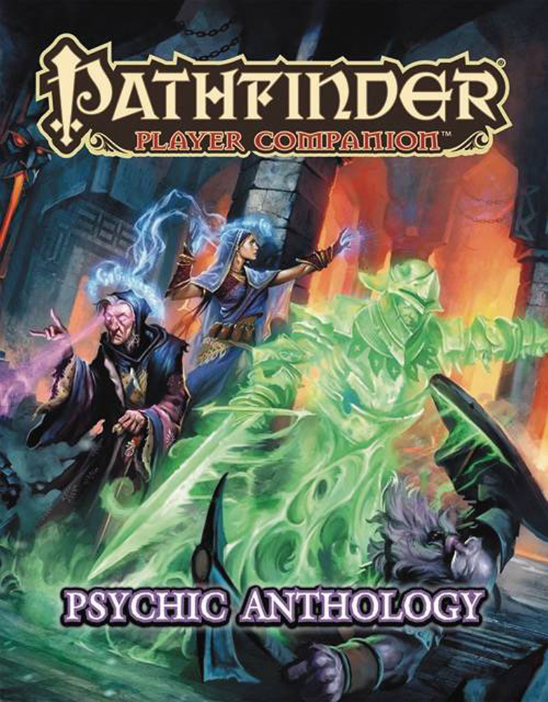 Image: Pathfinder Player Companion: Psychic Anthology  - Paizo, Inc
