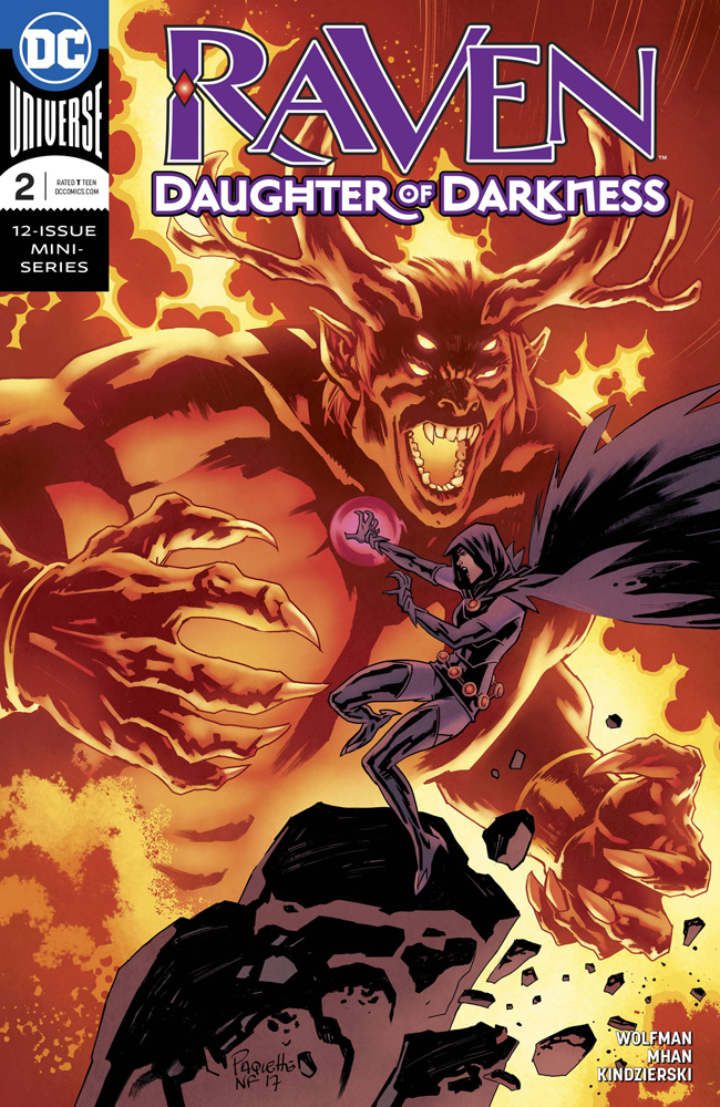 Image: Raven: Daughter of Darkness #2  [2018] - DC Comics