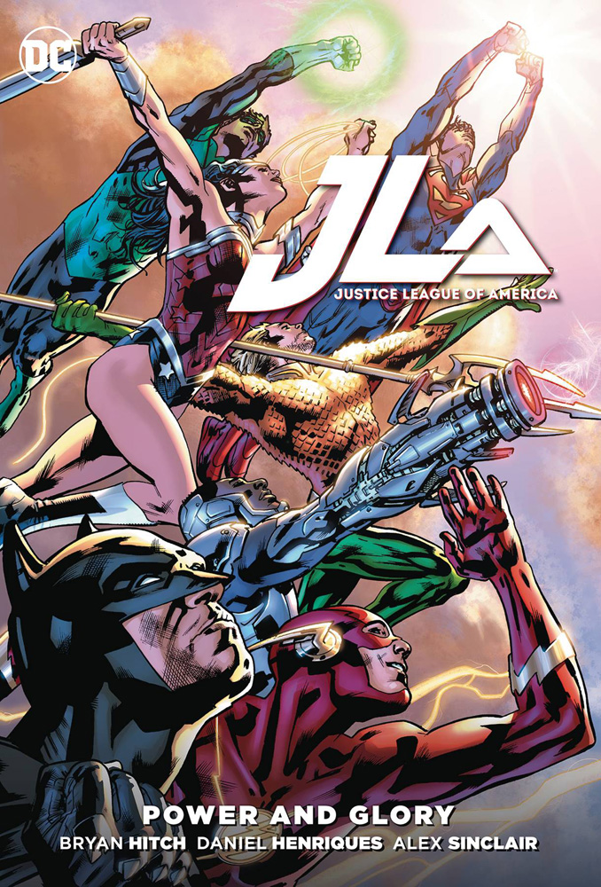 Image: Justice League of America: Power & Glory SC  - DC Comics