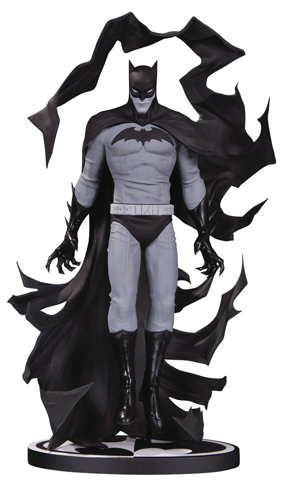 Image: Batman Black & White Statue: Batman by Becky Cloonan  - DC Comics