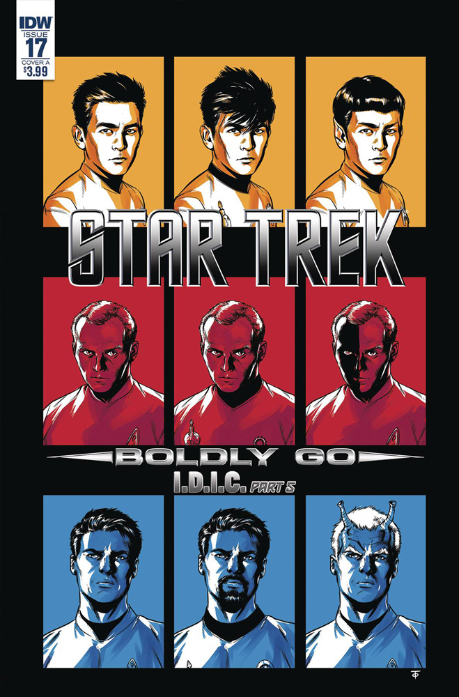 Image: Star Trek: Boldly Go #17 (cover A - To)  [2018] - IDW Publishing