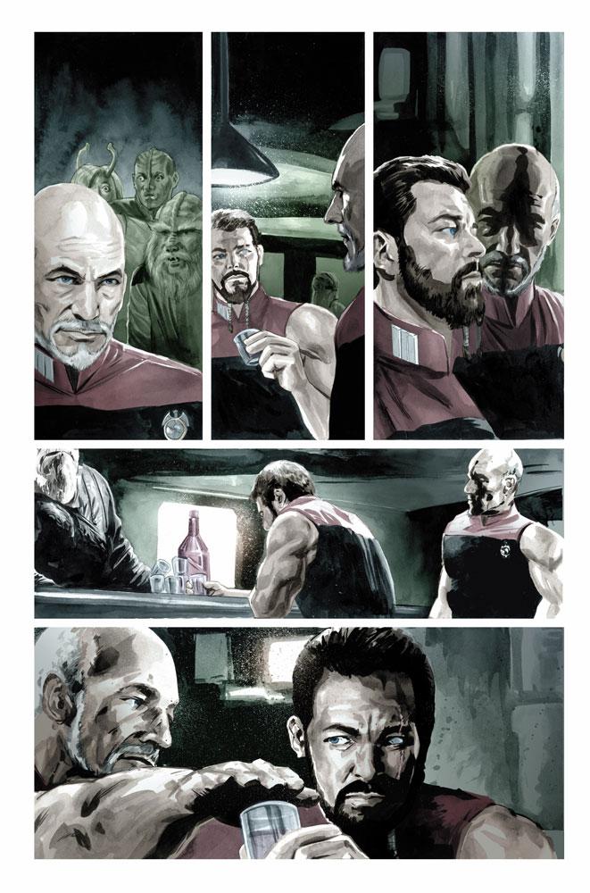 Star Trek TNG: Mirror Broken SC  - IDW Publishing