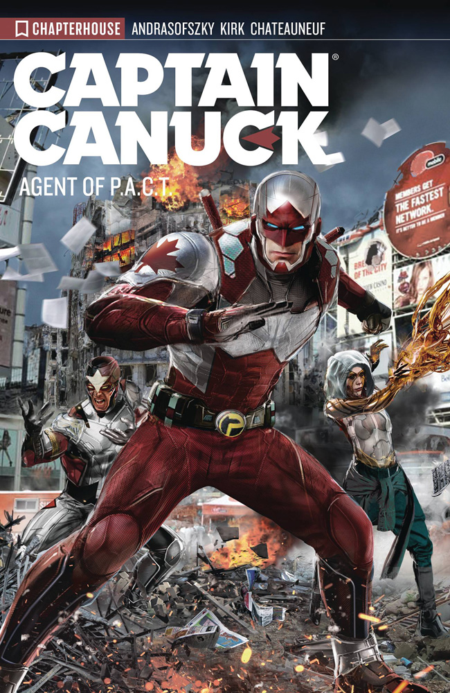 Image: Captain Canuck Vol. 03: Harbinger SC  - Chapterhouse Publishing, Inc