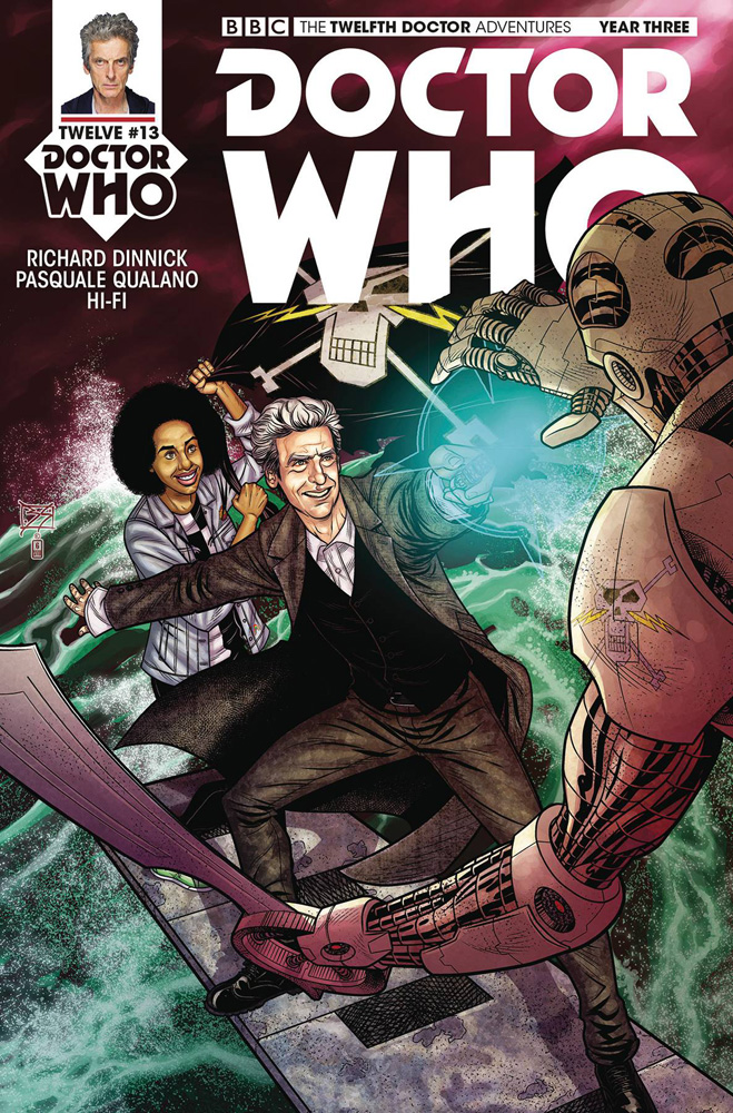 Image: Doctor Who: The 12th Doctor - Year Three #13 (cover A - Shedd)  [2018] - Titan Comics