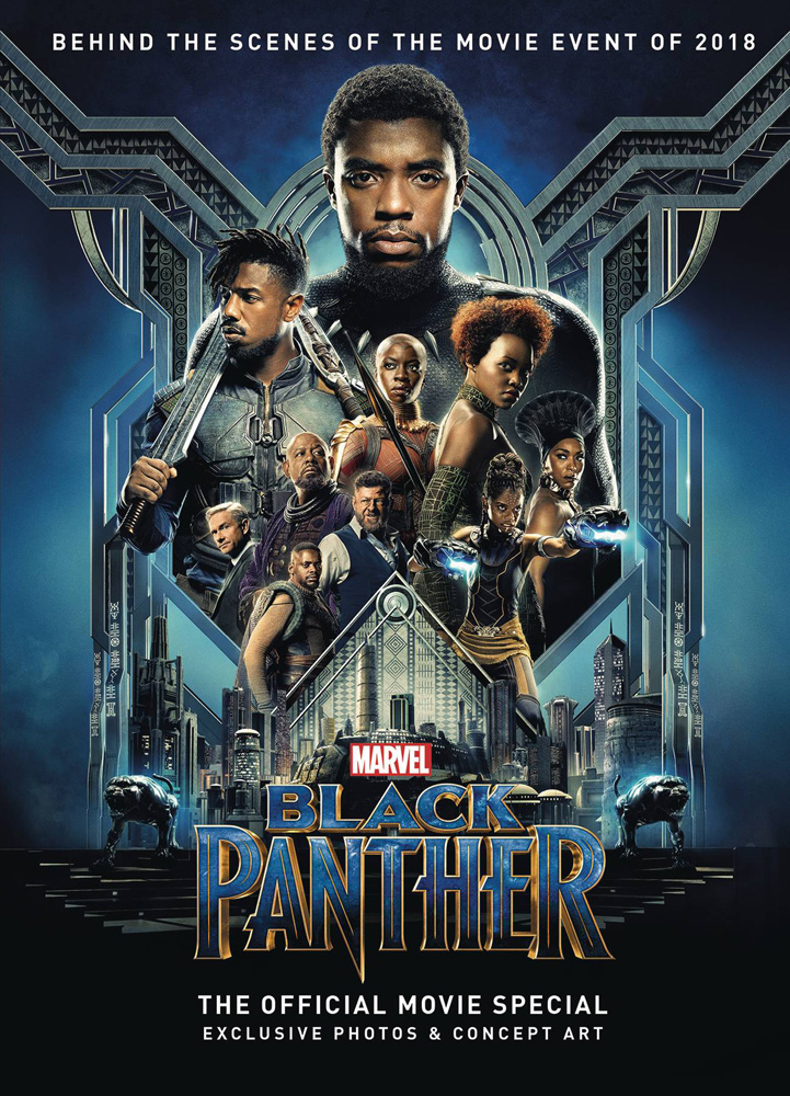 Image: Black Panther Official Movie Special HC  - Titan Comics