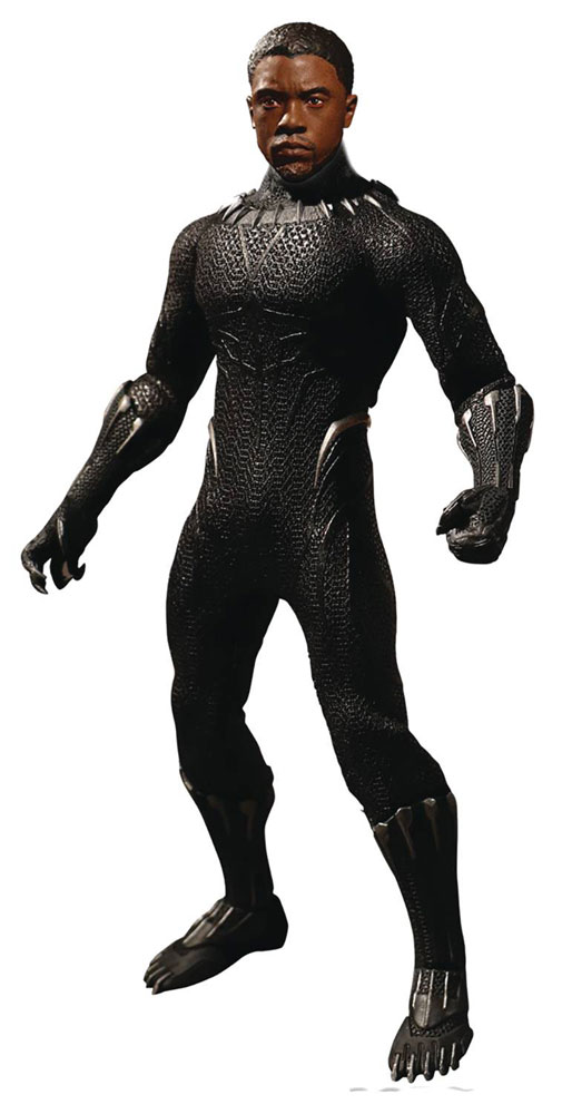 One-12 Collective Marvel Action Figure: Black Panther  - Mezco Toys