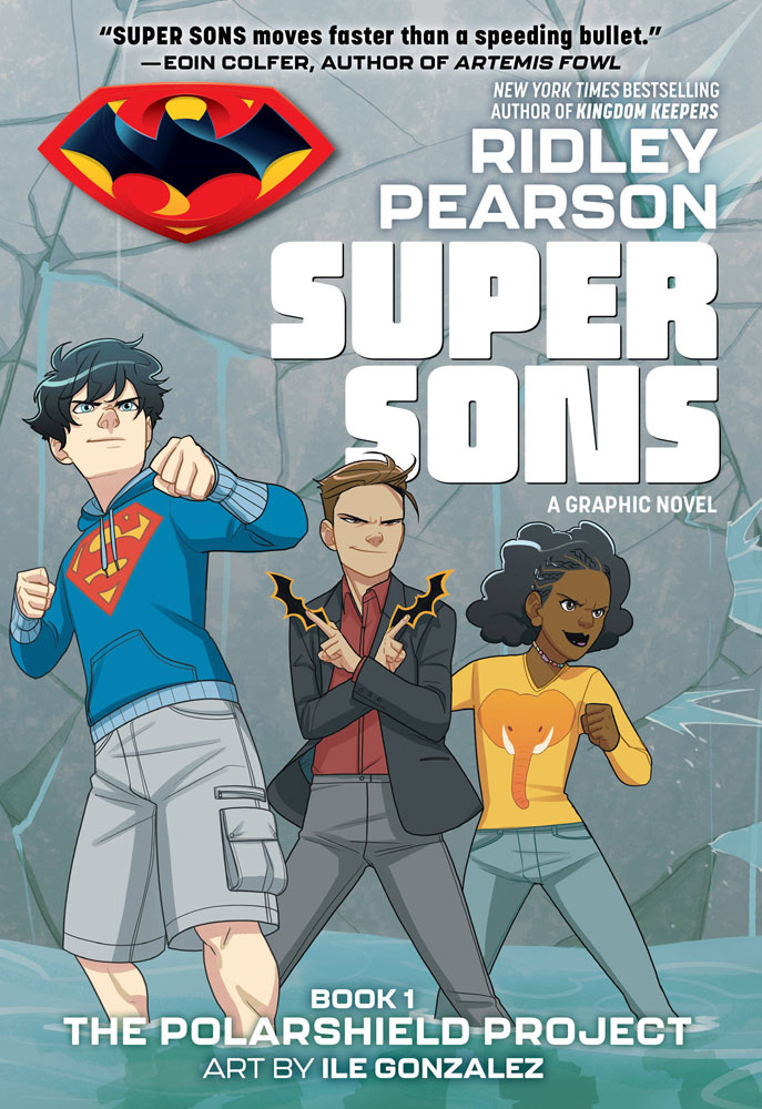 Image: Super Sons Vol. 01: The Polarshield Project SC  - DC Zoom