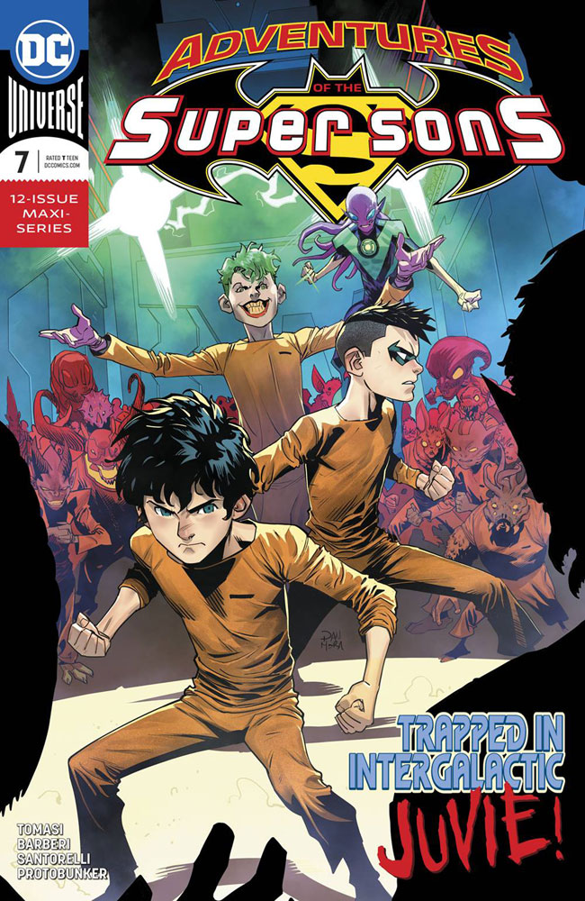 Image: Adventures of the Super Sons #7  [2019] - DC Comics