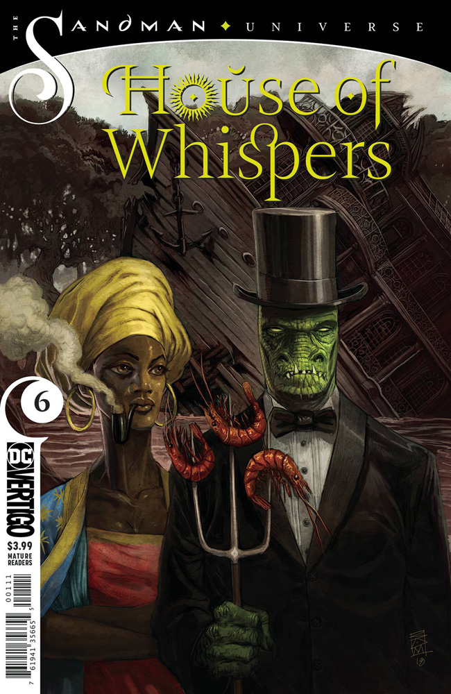 Image: House of Whispers #6  [2019] - DC Comics - Vertigo