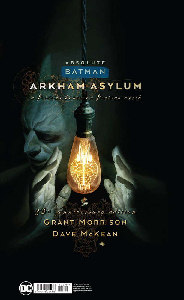 Image: Absolute Batman: Arkham Asylum HC  (30th Anniversary edition) - DC Comics