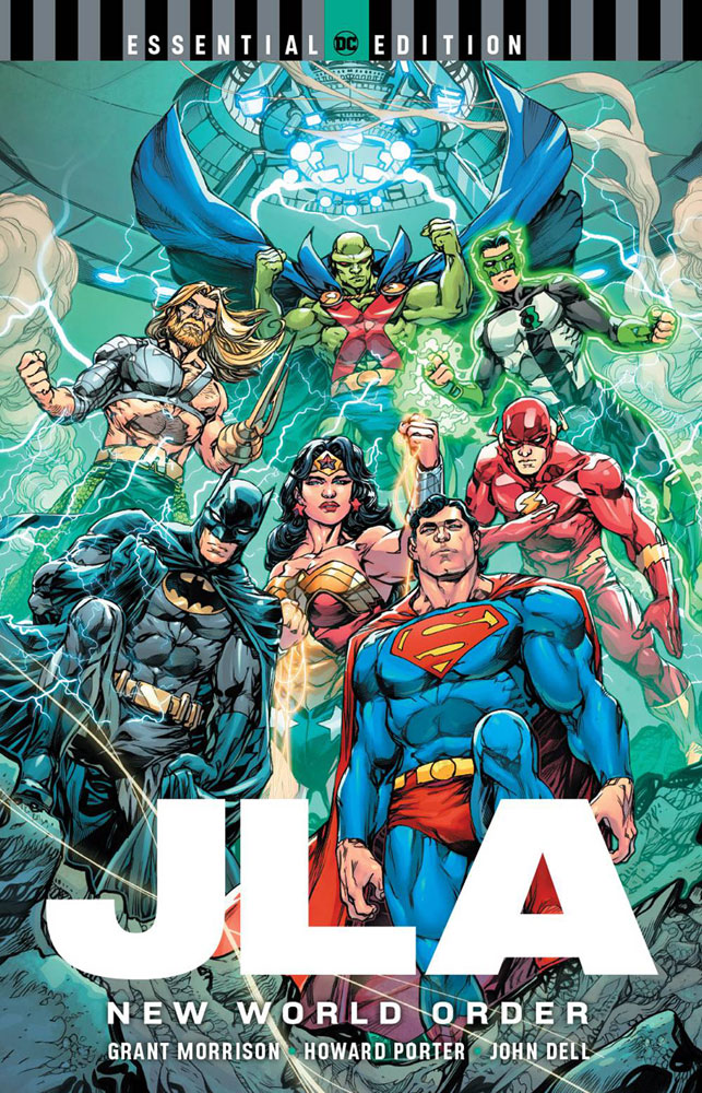 Image: JLA: New World Order DC Essential Edition SC  - DC Comics